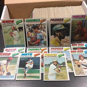 1977 Topps Baseball Cards- Partial Set *360 / 660*